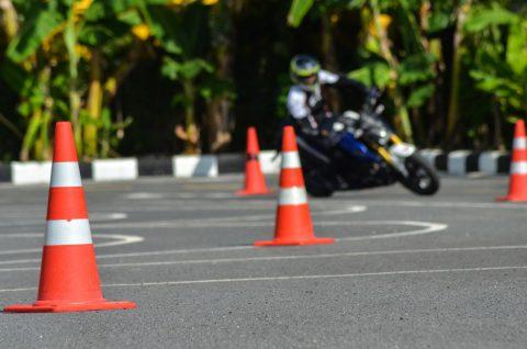 Permis moto et code