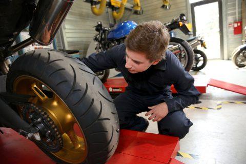 réparations moto